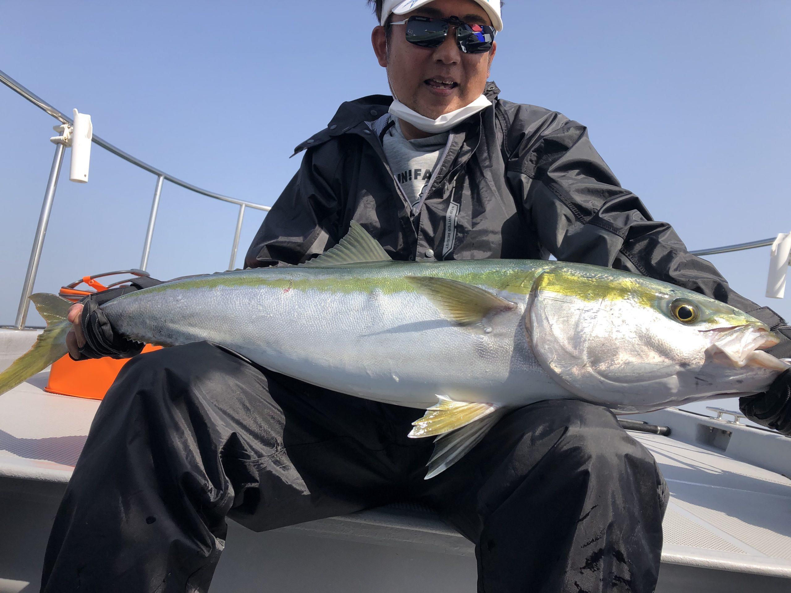 【動画】明石海峡タイラバで105cmブリ